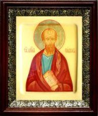 Павел, апостол (19х22), темный киот