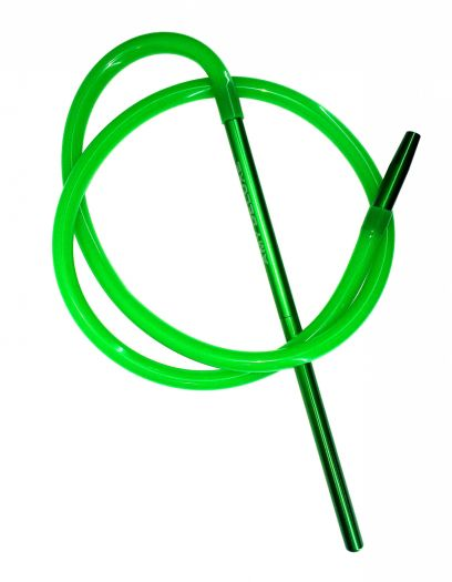 Шланг для кальяна Amy Deluxe силиконовый зеленый 150см