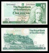 Шотландия 1 фунт 1993. СОСТОЯНИЕ