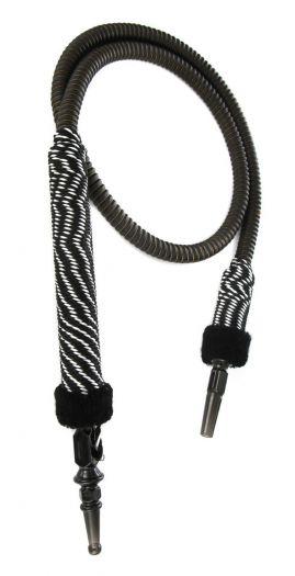 Шланг для кальяна Ager с черным мундштуком в оплетке 150см