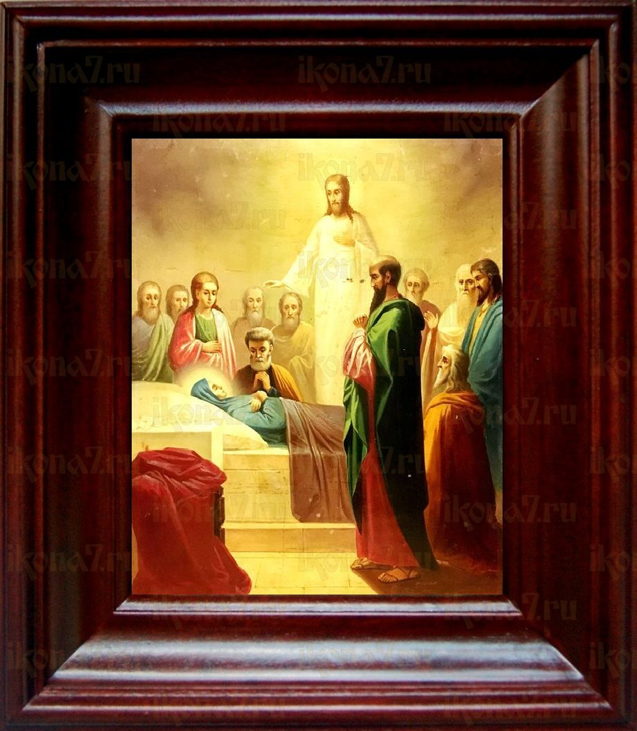 Успение Пресвятой Богородицы (21х24), простой киот