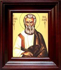 Фаддей, апостол от 70-ти (21х24), простой киот