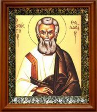 Фаддей, апостол от 70-ти (19х22), светлый киот