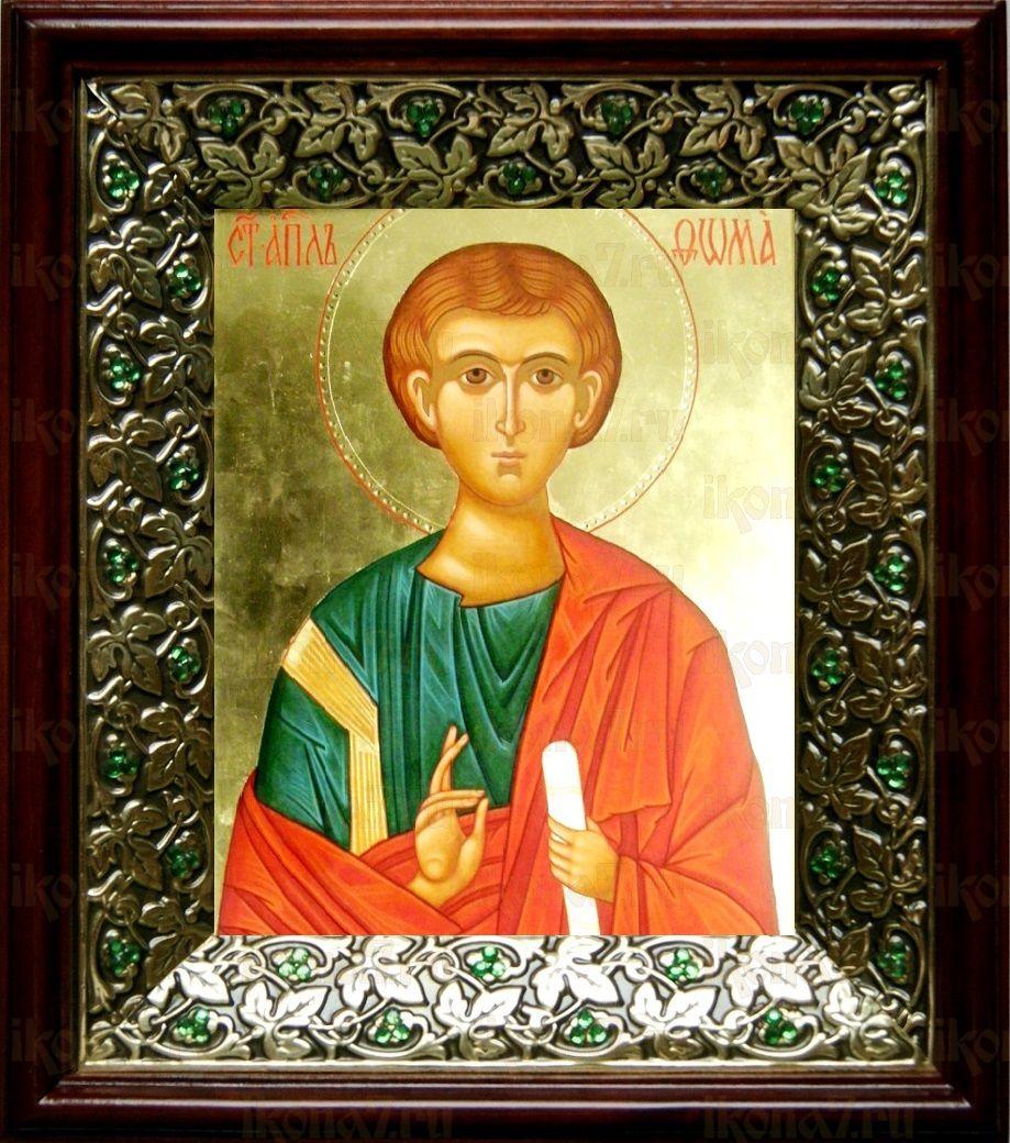 Фома, апостол (21х24), киот со стразами