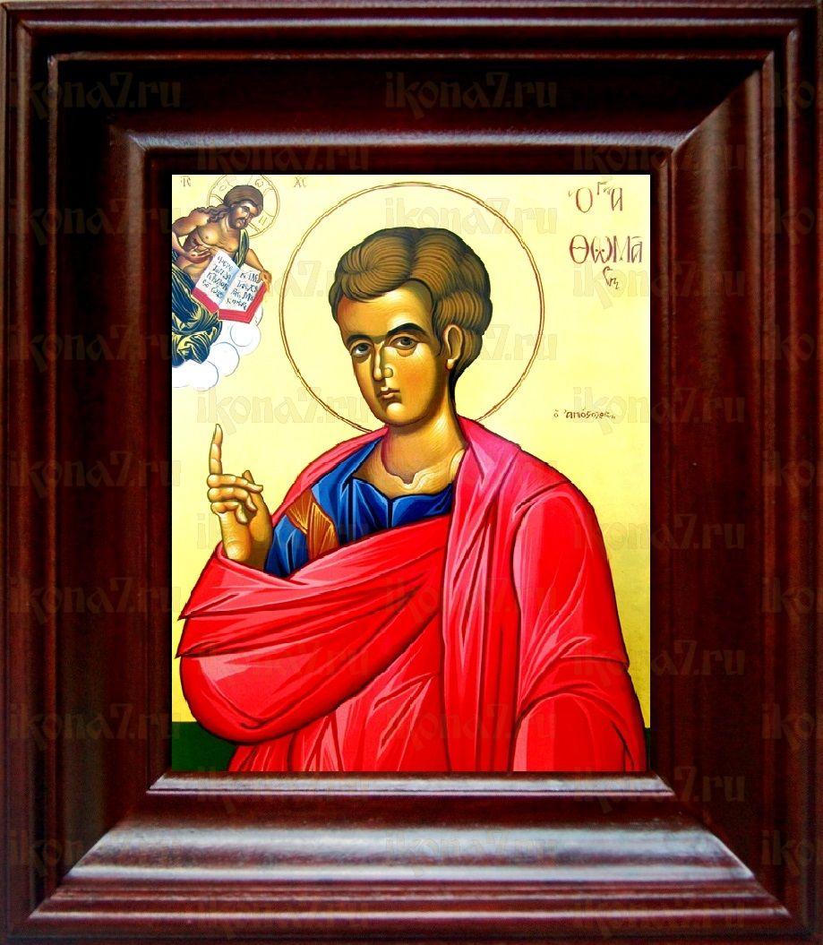 Фома, апостол (21х24), простой киот