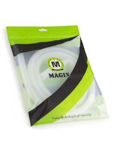 Шланг для кальяна Magix без мундштука силиконовый белый 150см