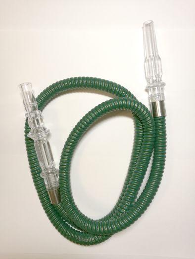 Шланг для кальяна зеленый 150см