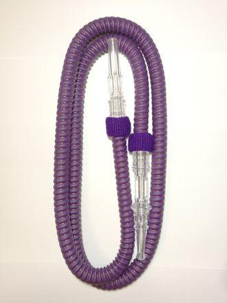 Шланг для кальяна стандартный фиолетовый 180см