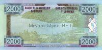Банкнота Бурунди 2 000 франков 2008 год