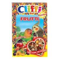 Корм Cliffi Super Premium Frutti с фруктами и орехами для попугаев 700гр