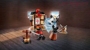 Конструктор Lari Ниндзя Уроки мастерства Кружитцу 10724 (Movie 70606) 121 дет