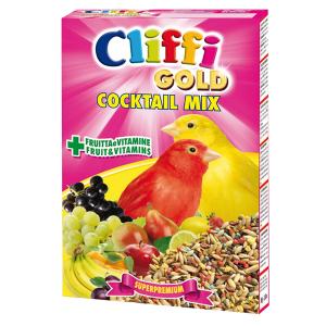 Коктейль Cliffi Cocktail Mix Canaries зерна, злаки, фрукты, овощи для канареек 300гр