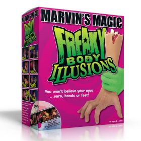 Freaky Body Illusions by Marvin's Magic (6 СУПЕР-ФОКУСОВ + Инструкция на DVD) Пр-во США