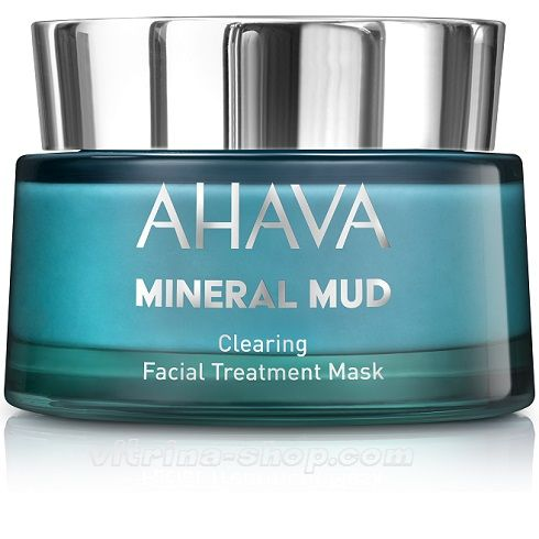 Ahava Очищающая детокс-маска для лица Mineral Mud Masks, 50 мл.