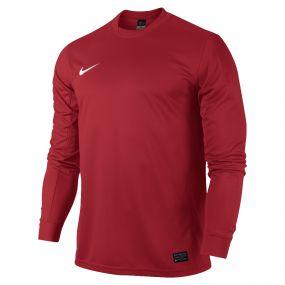 Красная игровая футболка Nike Park V Long Sleeve Jersey