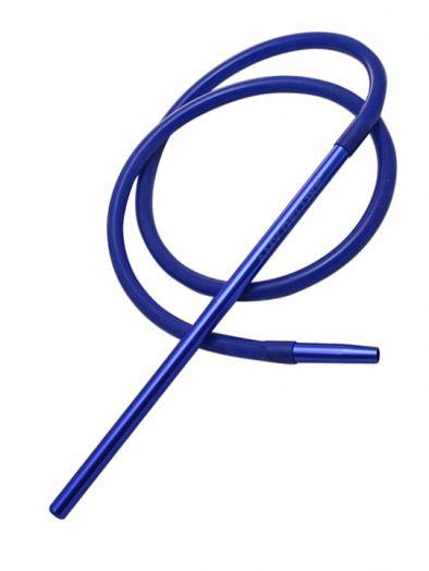 Шланг для кальяна Amy Deluxe силиконовый синий 180см