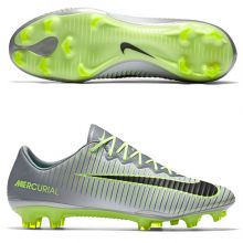Бутсы Nike Mercurial Vapor XI FG серые