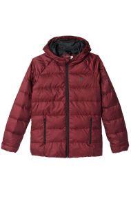Женский пуховик adidas Cosy Down Jacket бордовый
