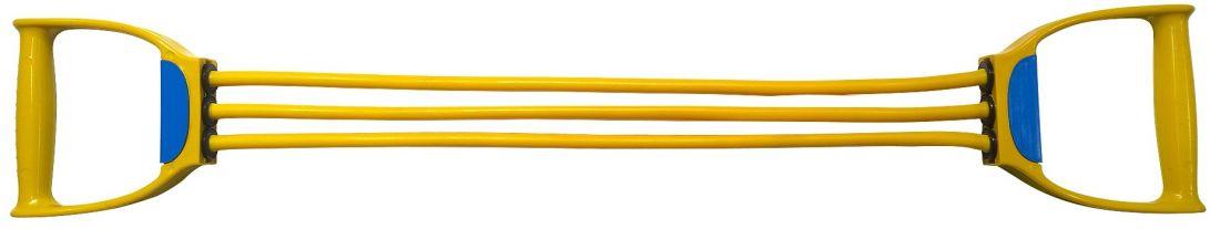 Эспандер плечевой латексный, 3 жгута INDIGO SM-073 LIGHT