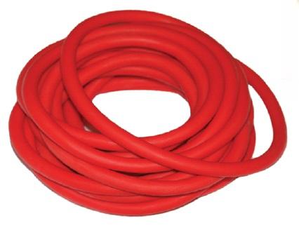 Эспандер трубка латексная гимнастическая INDIGO SM-074 3м MEDIUM (5-8кг)