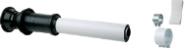 Вертикальный наконечник для коакс. трубы диам. 60/100 мм, длина 1000 мм   KHG  71403641
