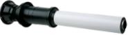 Вертикальный наконечник полипропиленовый для коаксиальной трубы, диам. 110/160 мм, НТ  KUG  71413341