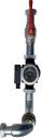 Гидравлический комплект для присоединения второго насоса (POWER HT 120-150 кВт)  7112877