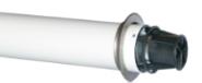 Коаксиальная труба с наконечником диам. 80/125 мм, длина 750 мм KHG 71414061