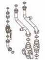 Комплект для подсоединения котла к коллектору  7105799