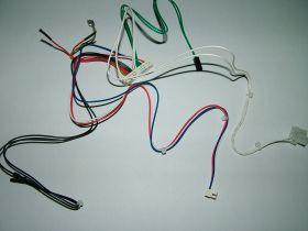 Проводка электрическая низкоковольтная (От разъема платы Х5 к модулятору, клеммной колодке, датчику NTC ГВС, реле минимального давления и датчику протока ГВС)  Арт. 8513910