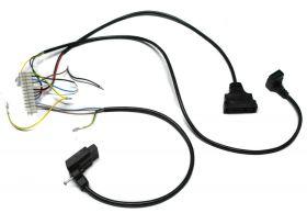 проводка электропитания (от разъема платы Х3 к клеммной колодке, трехходовому клапану, насосу, газ. Клапану Honeywell) Арт. 8612480