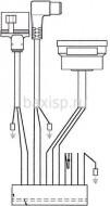 проводка электропитания (от разъема платы Х3 к клеммной колодке, трехходовому клапану, насосу, газ. Клапану SIT) Арт. 8513630