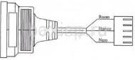 проводка: мотор трехходового клапана Арт. 8419270