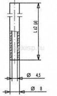 трубка пневмореле Арт. 5402270
