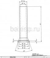 штуцер для анализа продуктов сгорания Арт. 5409480