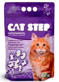 Cat Step Lavanda Впитывающий силикагелевый наполнитель (7.6 л)