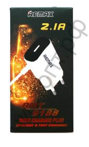 СЗУ Nokia 8600 micro USB + выход USB 9188 (2.1А) картон