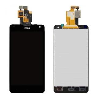 Дисплей в сборе с сенсорным стеклом для LG Optimus G (E975)