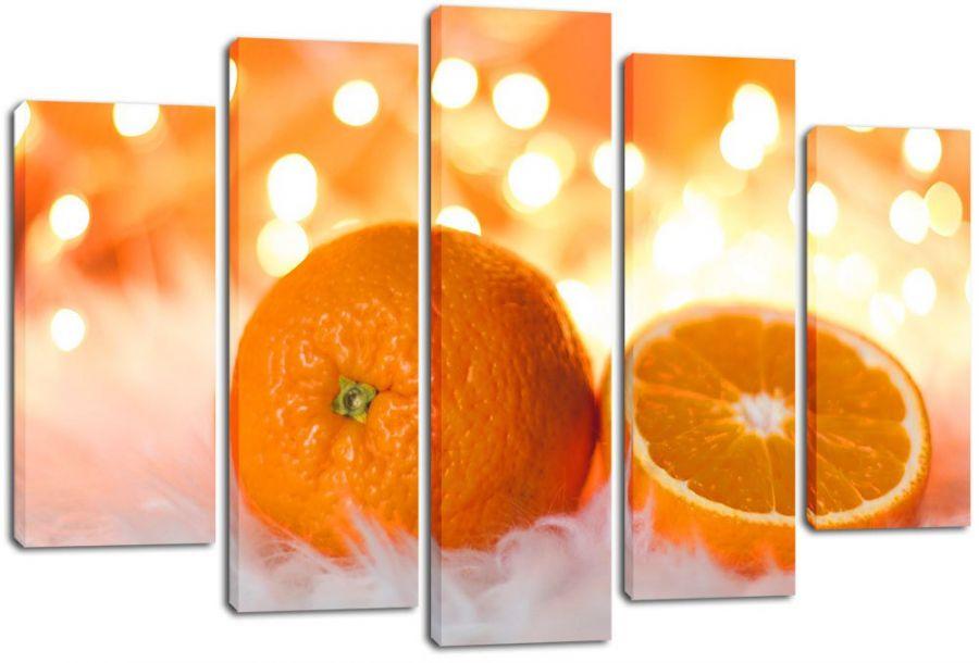 Модульная картина Апельсины