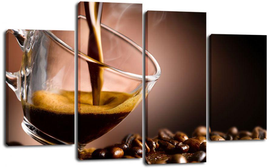 Модульная картина Утренний кофе
