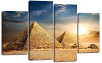 Модульная картина Пирамиды