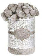 Плед с помпонами(подарочная упаковка)№FT111