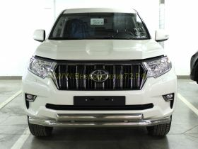 Защита переднего бампера 76х76х43 мм для Toyota Land Cruiser Prado 150 2017 -