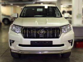 Защита переднего бампера 76 мм для Toyota Land Cruiser Prado 150 2017 -