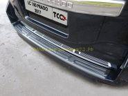 Накладка на задний бампер  (Тип 6) для Toyota Land Cruiser Prado 150
