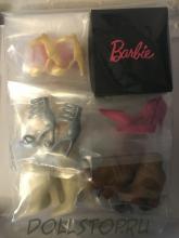 набор обуви для куклы Барби - set of shoes Barbie doll