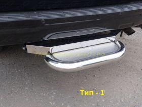 Ступенька на фаркоп под шар тип F  для Toyota Land Cruiser Prado 150