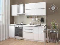 Кухня Акрилит 1,6м белый