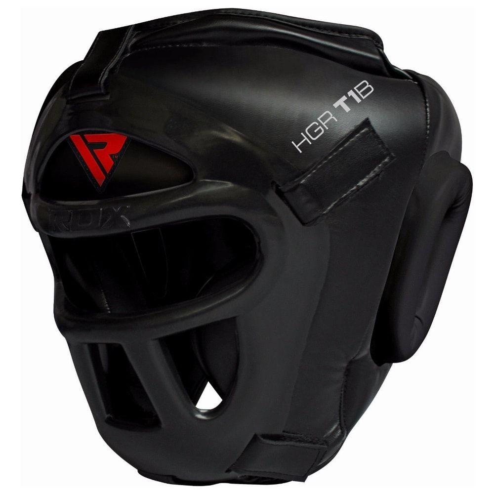 Боксерский шлем RDX T1B с маской