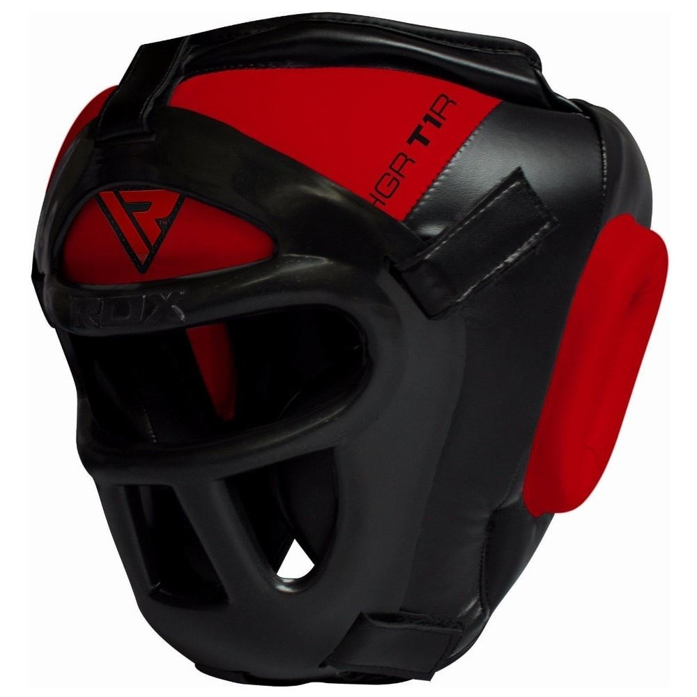 Боксерский шлем RDX T1R с маской